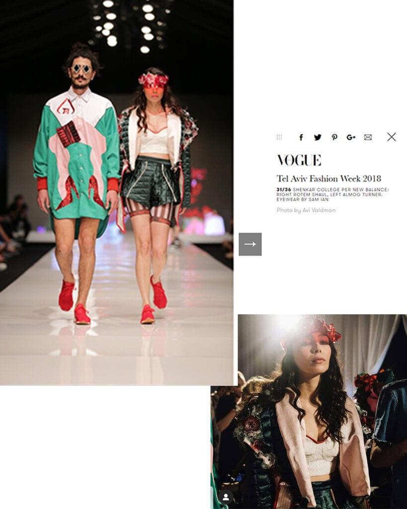 VOGUE ITALIA - Israel Fashion Week March 2018