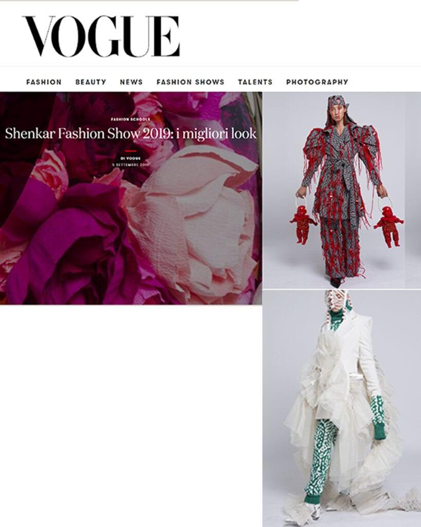 VOGUE ITALIA - Shenkar Fashion Show 2019